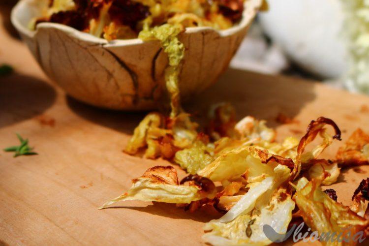 Kapustové chipsy