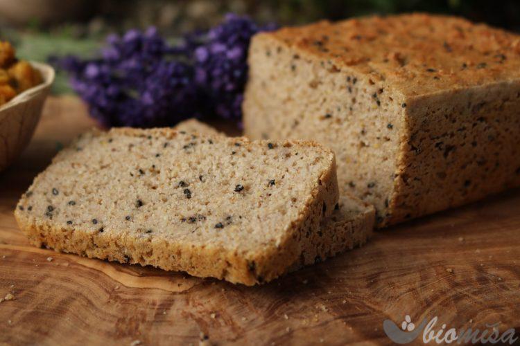 Kváskový bezlepkový chléb