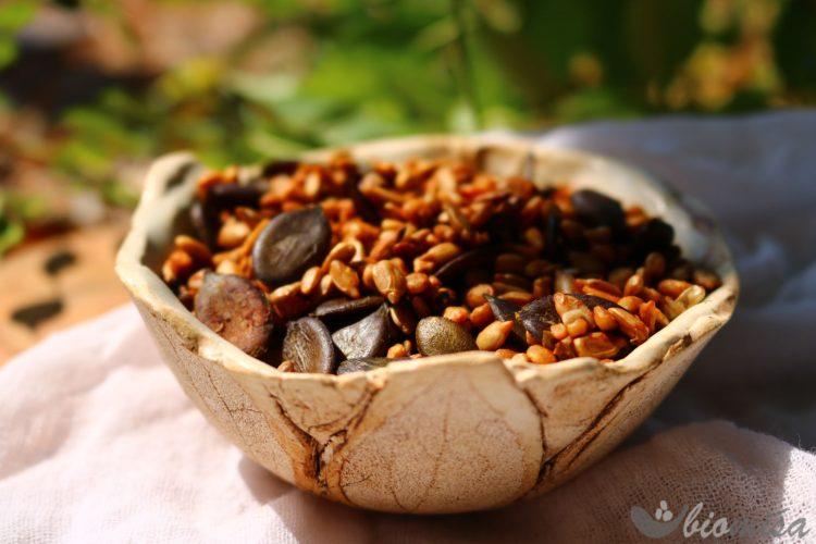Slaná semínka